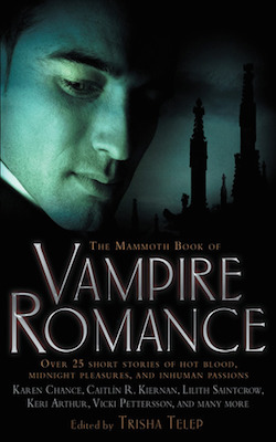 The Mammoth Book of Vampire Romance featuring Keri Arthur