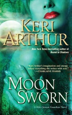 Moon Sworn (US) by Keri Arthur (Riley Jenson Guardian series)