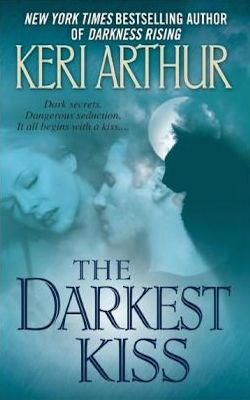 The Darkest Kiss from the Riley Jenson Guardian series by Keri Arthur