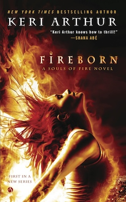 Fireborn (US) by Keri Arthur
