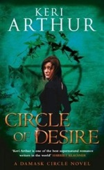 Circle of Desire from The Damask Circle series by Keri Arthur