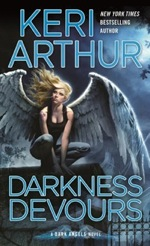 Darkness Devours from the Dark Angel series by Keri Arthur