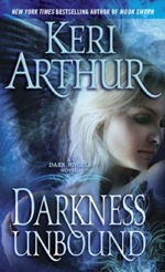 Darkness Unbound from the Dark Angel series by Keri Arthur