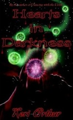 Hearts in Darkness (UK) by Keri Arthur (The Nikki and Michael series)