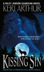 Kissing Sin from the Riley Jenson Guardian series by Keri Arthur