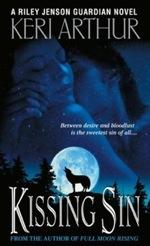 Kissing Sin from the Riley Jenson Guardian series by Keri Arthur