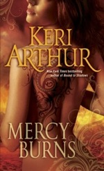 Mercy Burns from Myth and Magic series by Keri Arthur