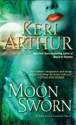 Moon Sworn from the Riley Jenson Guardian series by Keri Arthur