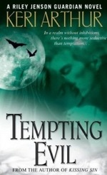 Tempting Evil from the Riley Jenson Guardian series by Keri Arthur