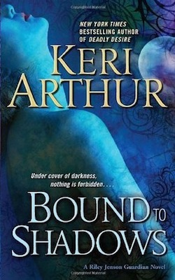 Bound to Shadows (US) by Keri Arthur (Riley Jenson Guardian series)