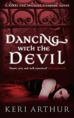 Dancing with the Devil (AU) by Keri Arthur (The Nikki and Michael series)