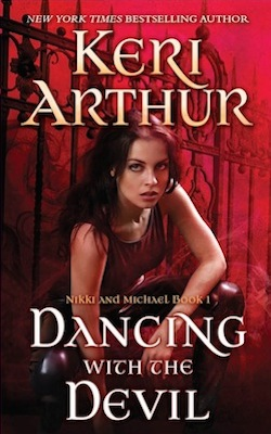Dancing with the Devil (US) by Keri Arthur (The Nikki and Michael series)