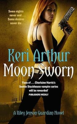 Moon Sworn (UK/AU) by Keri Arthur (Riley Jenson Guardian series)