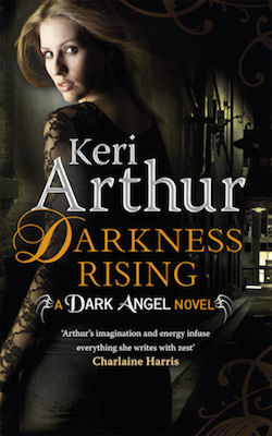 Darkness Rising (UK) by Keri Arthur (Dark Angel series)
