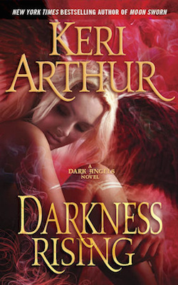 Darkness Rising from the Dark Angel series by Keri Arthur