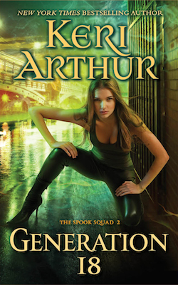 Generation 18 (US) from The Spook Squad series by Keri Arthur