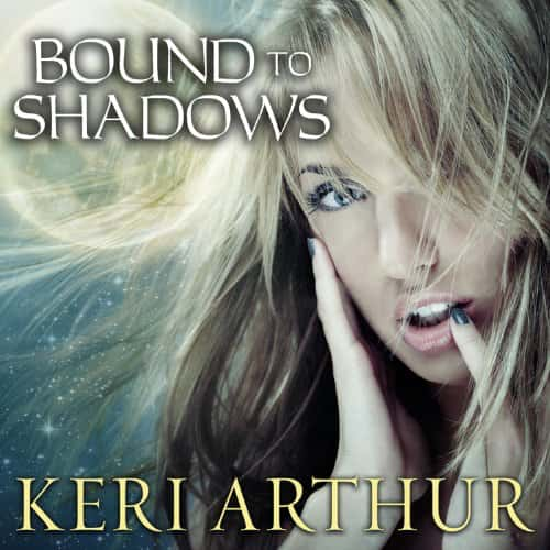 Audiobook cover for Bound to Shadows audiobook by Keri Arthur