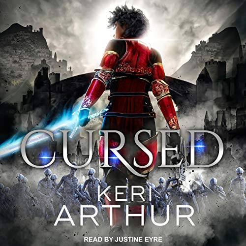 Audiobook cover for Cursed audiobook by Keri Arthur