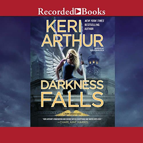 Audiobook cover for Darkness Falls audiobook by Keri Arthur