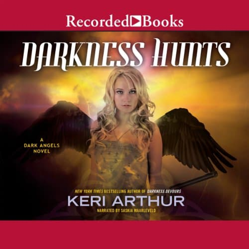 Audiobook cover for Darkness Hunts audiobook by Keri Arthur