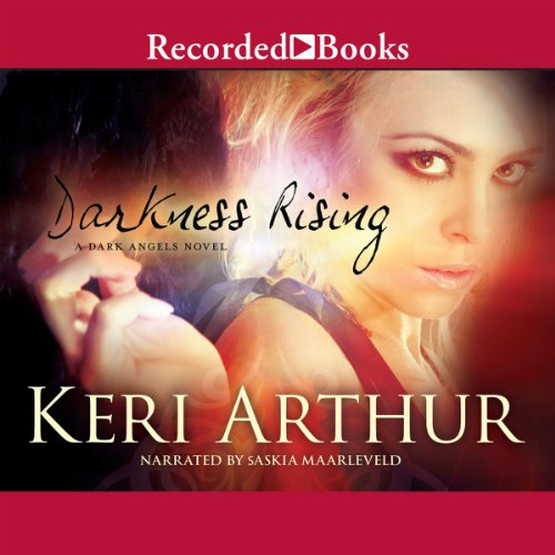 Audiobook cover for Darkness Rising audiobook by Keri Arthur