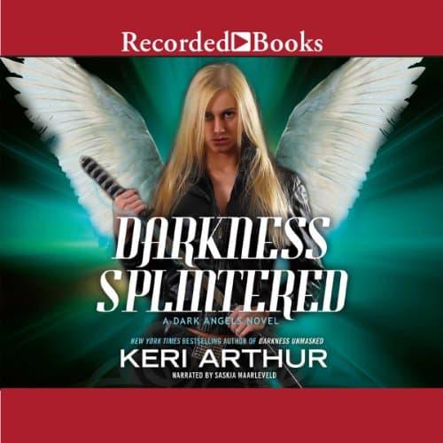 Audiobook cover for Darkness Splintered audiobook by Keri Arthur
