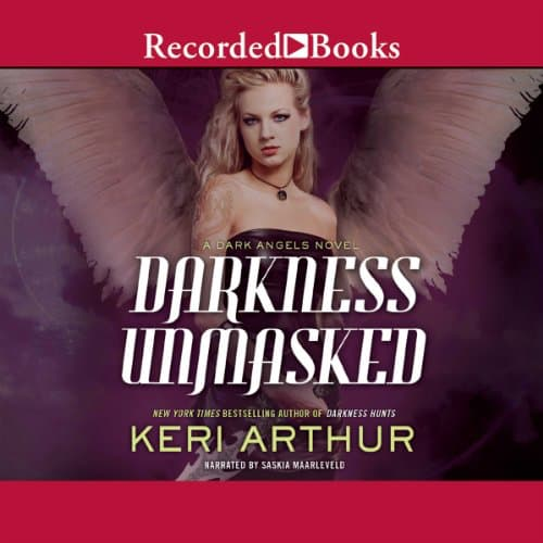 Audiobook cover for Darkness Unmasked audiobook by Keri Arthur
