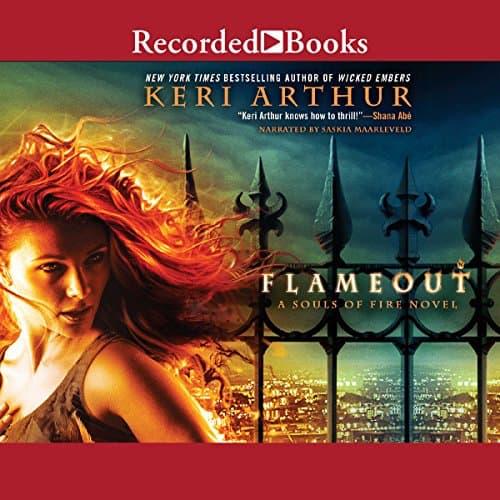 Flameout audiobook by Keri Arthur