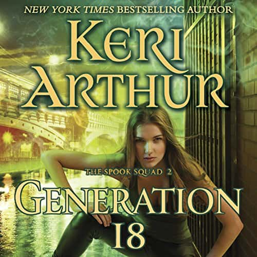 Audiobook cover for Generation 18 audiobook by Keri Smith