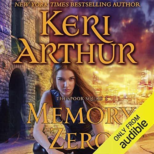 Audiobook cover for Memory Zero audiobook by Keri Arthur