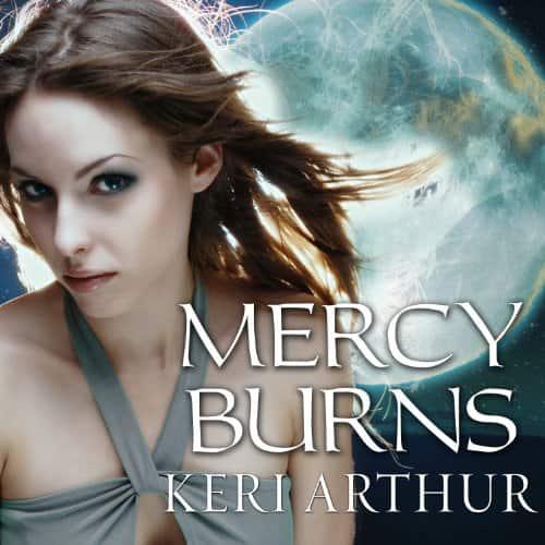 Audiobook cover for Mercy Burns audiobook by Keri Arthur