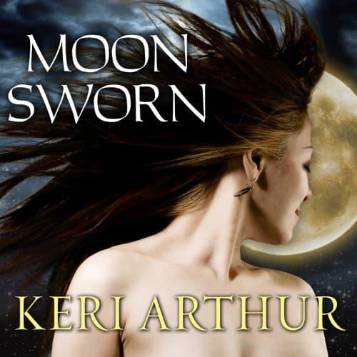 Audiobook cover for Moon Sworn audiobook by Keri Arthur