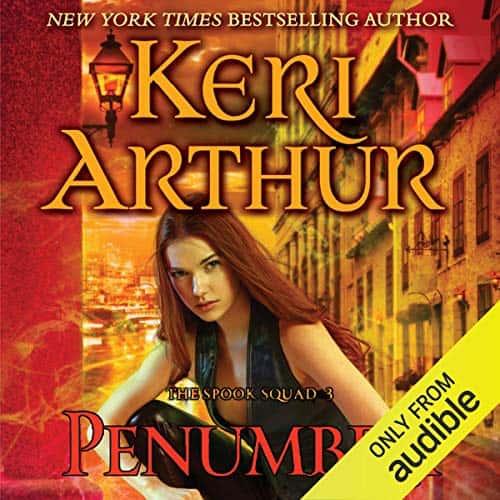Audiobook cover for Penumbra audiobook by Keri Arthur