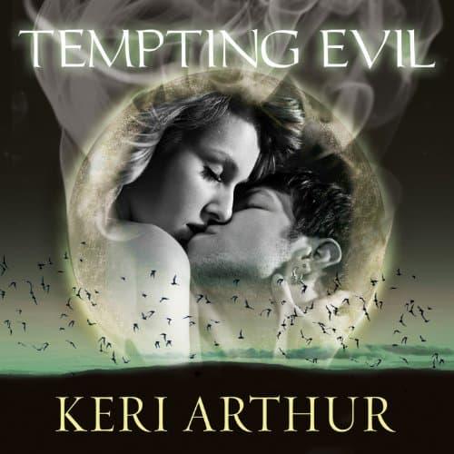 Audiobook cover for Tempting Evil audiobook by Keri Arthur