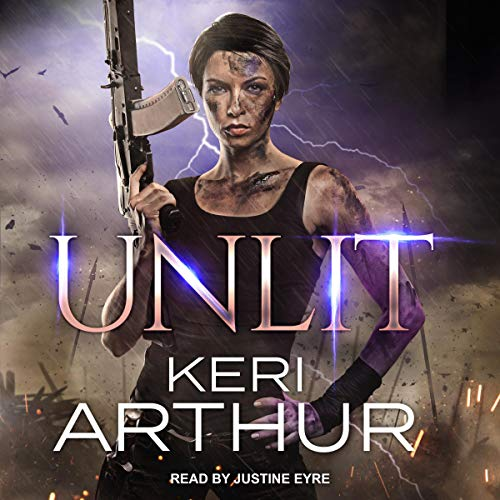 Audiobook cover for Unlit audiobook by Keri Arthur
