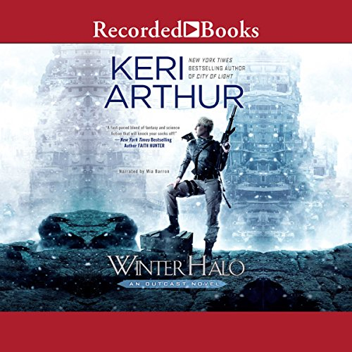 Audiobook cover for Winter Halo audiobook by Keri Arthur