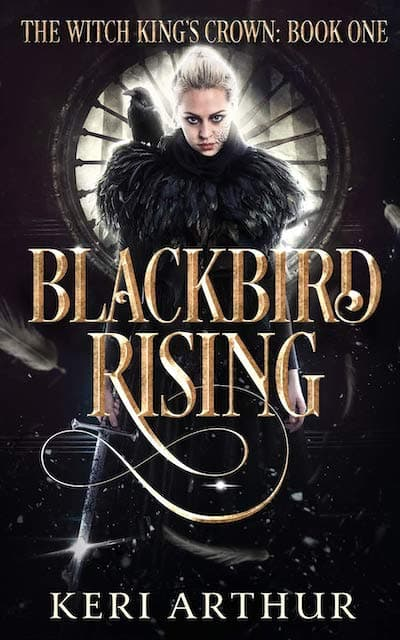 Book cover for Blackbird Rising by Keri Arthur