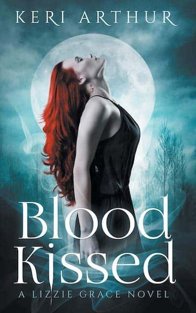 Book cover for Blood Kissed by Keri Arthur