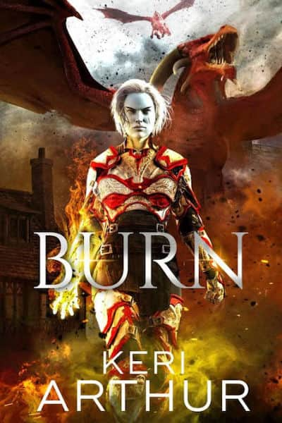 Book cover for Burn by Keri Arthur