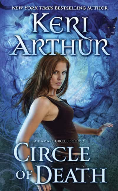 Book cover for Circle of Death by Keri Arthur