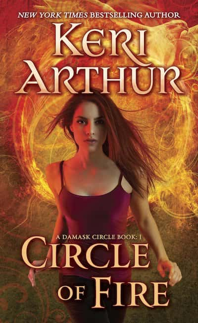 Book cover for Circle of Fire by Keri Arthur