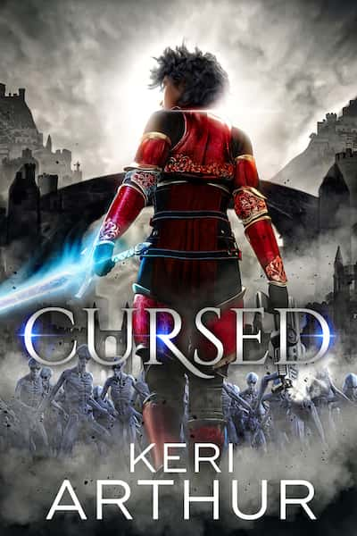 Book cover for Cursed by Keri Arthur