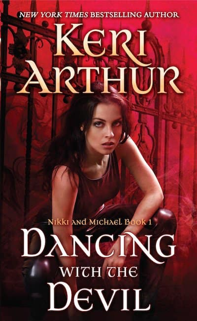 Book cover for Dancing with the Devil by Keri Arthur