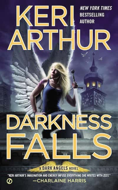 Book cover for Darkness Falls by Keri Arthur