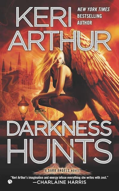 Book cover for Darkness Hunts by Keri Arthur