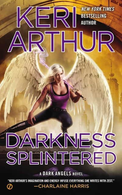 Book cover for Darkness Splintered by Keri Arthur