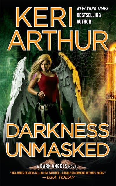 Book cover for Darkness Unmasked by Keri Arthur