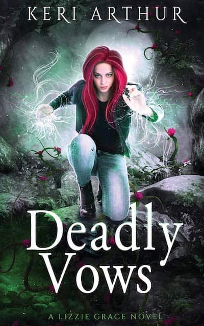 Book cover for Deadly Vows by Keri Arthur