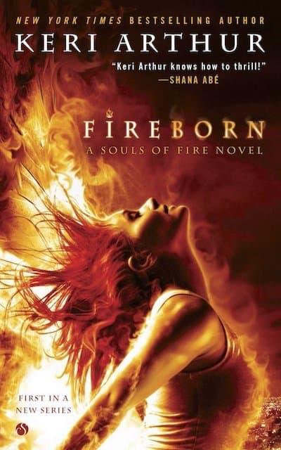 Book cover for Fireborn by Keri Arthur