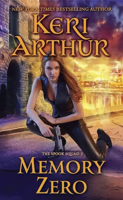 Book cover for Memory Zero by Keri Arthur